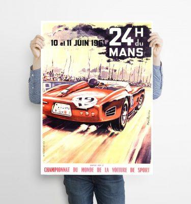 poster Le Mans 61