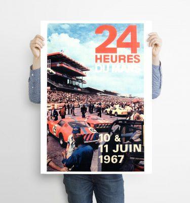 poster Le Mans 67
