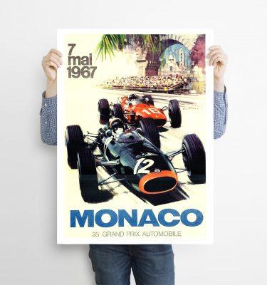 poster monaco 1967